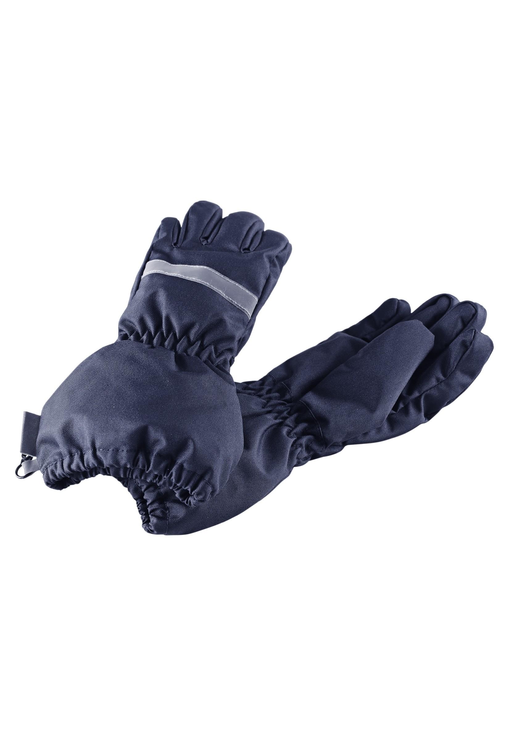 Варежки и перчатки Lassie Перчатки для мальчика Lassie, темно-синие перчатки lassie lassie la078dkupy33