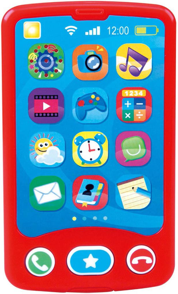 Купить Развивающая игрушка, Мой первый телефон, 1шт., PLAYGO Play 2670, Китай, red