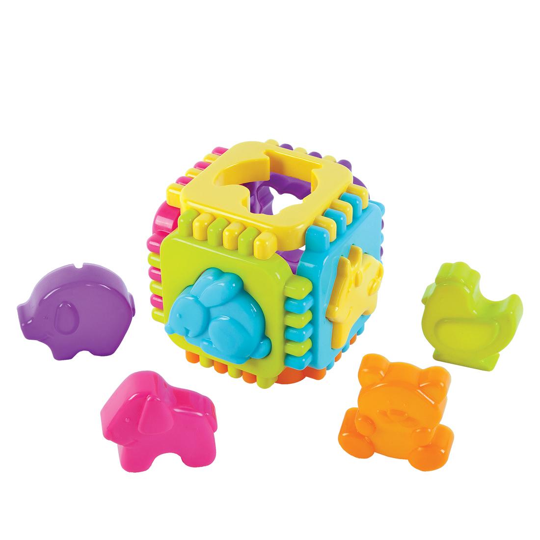 Сортер Наша игрушка Веселые животные сортер жирафики веселые животные
