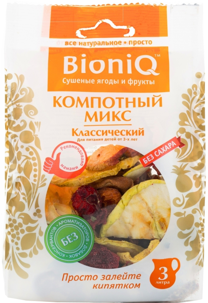 Компот BioniQ микс классический 80 г