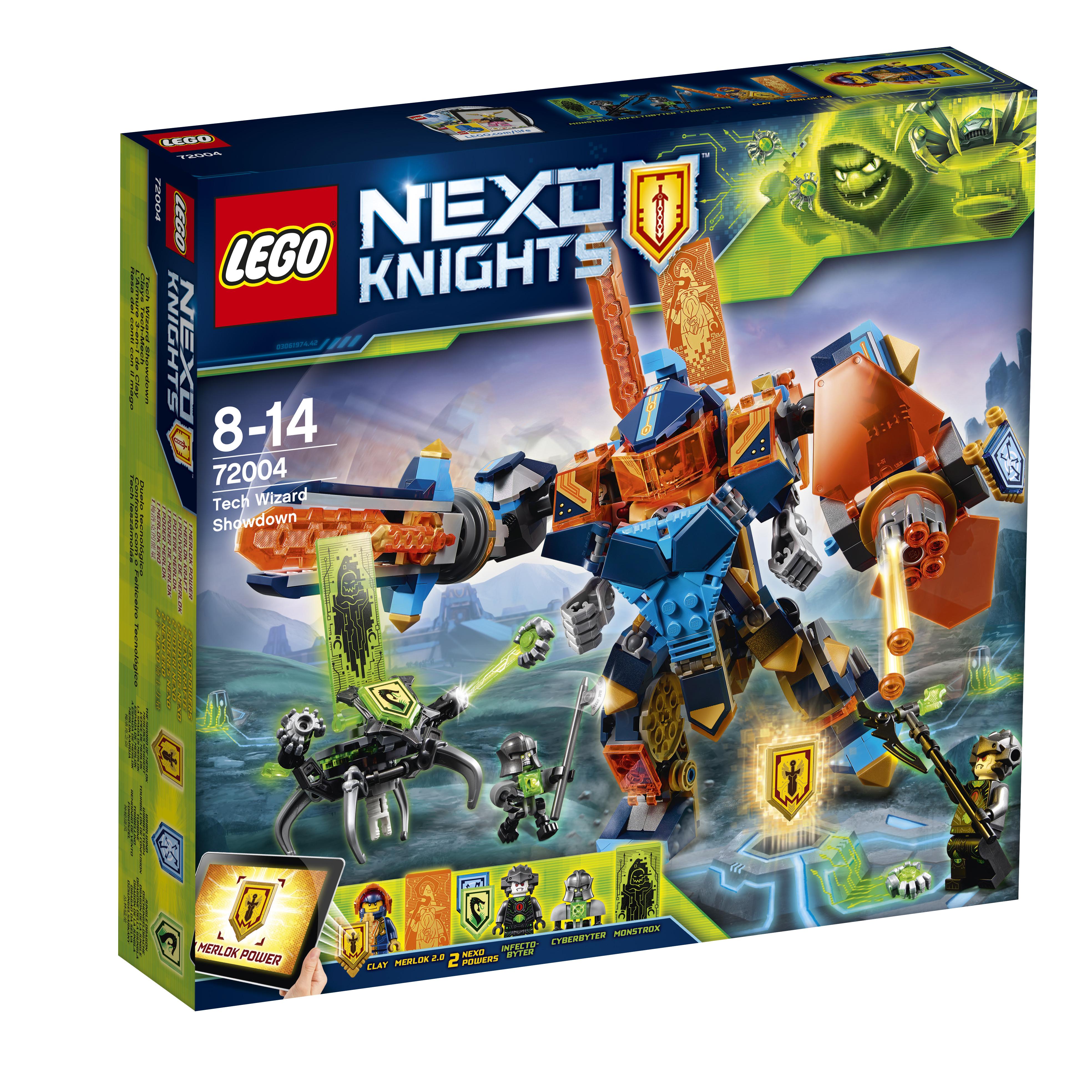 Конструктор LEGO Nexo Knights 72004 Решающая битва роботов цены