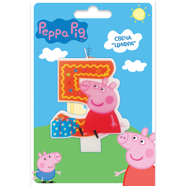 Peppa Pig Peppa Pig Peppa Pig Цифра 5 peppa pig find the hat sticker book
