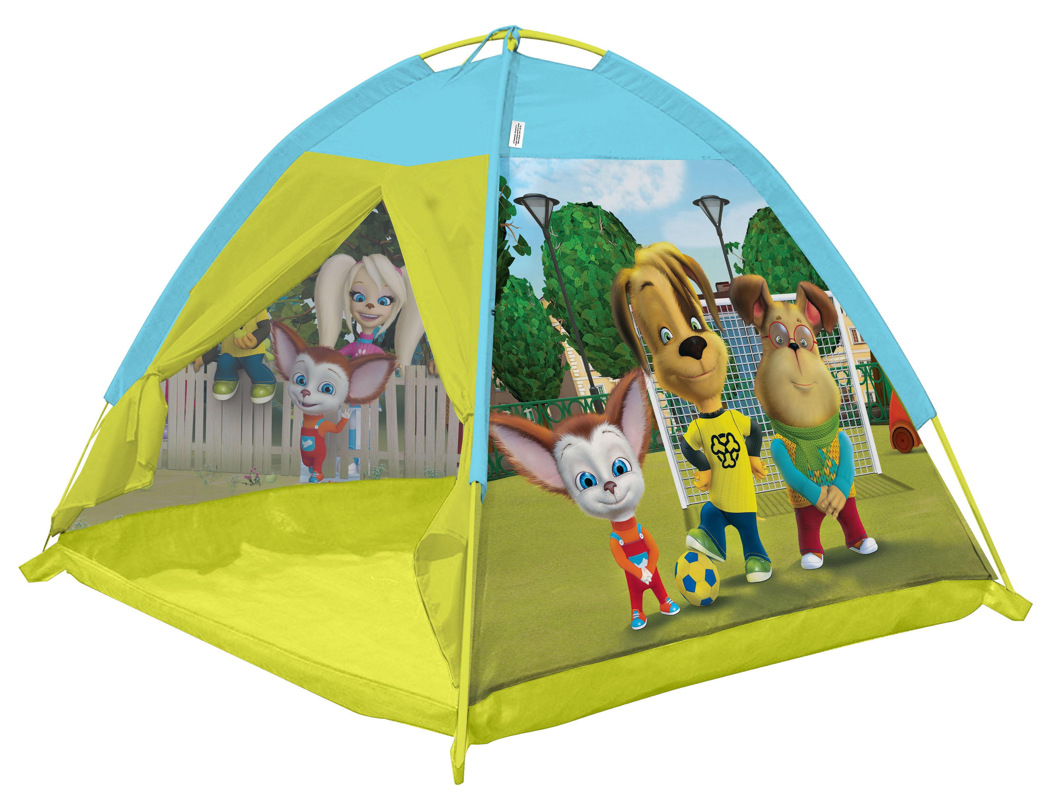 Игровые палатки ЯиГрушка Палатка игровая ЯиГрушка «Барбоскины» 112х112х84 см палатка