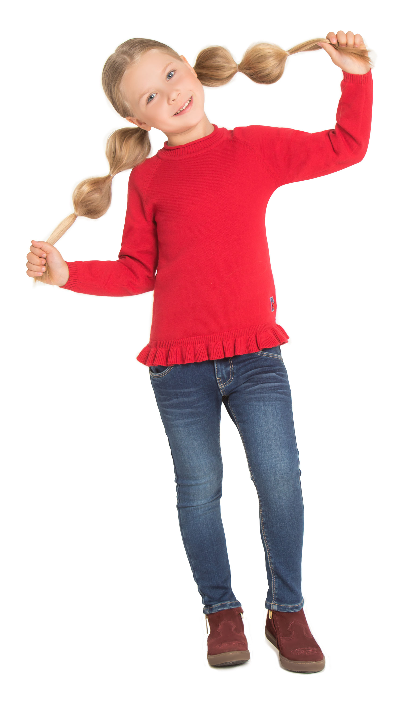 Джемперы Barkito Джемпер для девочки Barkito Парижанка, красный джемперы pikanto джемпер