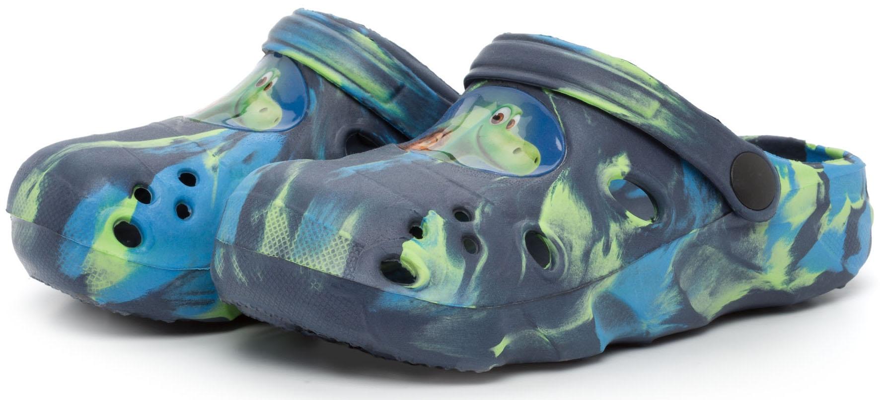 Сланцы (пляжная обувь) THE GOOD DINOSAUR Туфли летние для пляжа и бассейна для мальчика The Good Dinosaur, темно-синие сапоги the good dinosaur сапоги