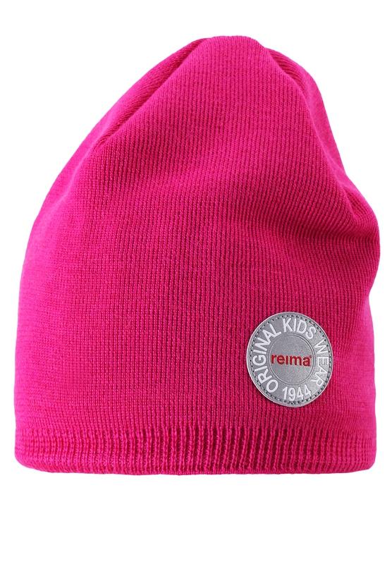 Шапка Reima Beanie, Nebula pink головные уборы reima beanie nebula navy