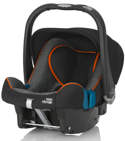 Автокресло-автолюлька 0-13 кг Britax Romer Baby-Safe Plus SHR II Black Marble