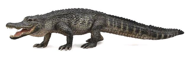 Фигурки животных Collecta Фигурка Collecta «Американский аллигатор» 18 см цены онлайн