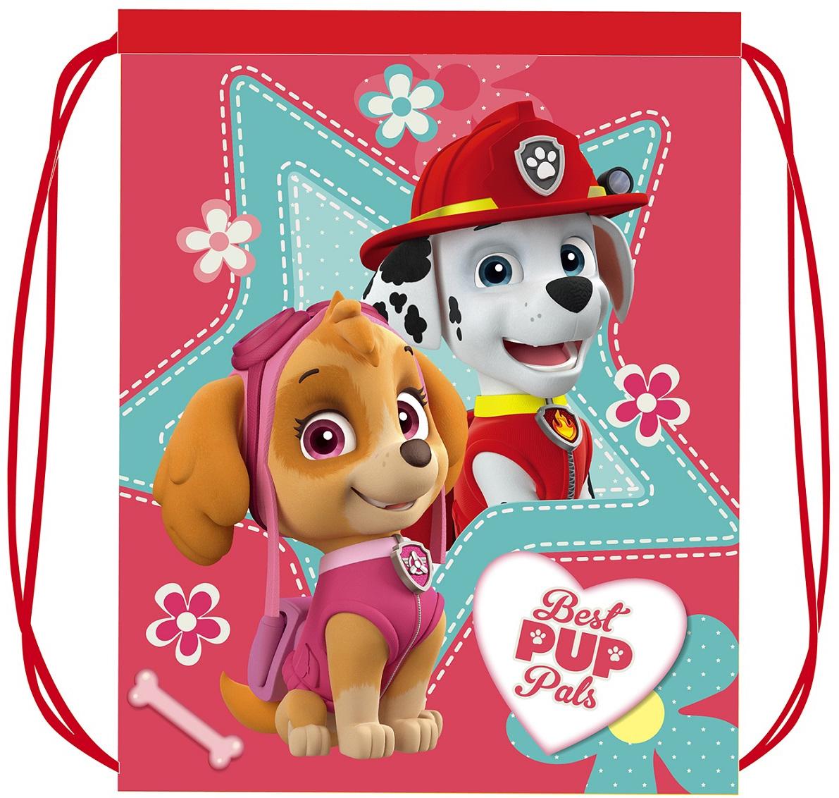 Рюкзаки и мешки для сменки Paw Patrol Мешок для обуви Paw Patrol для девочки