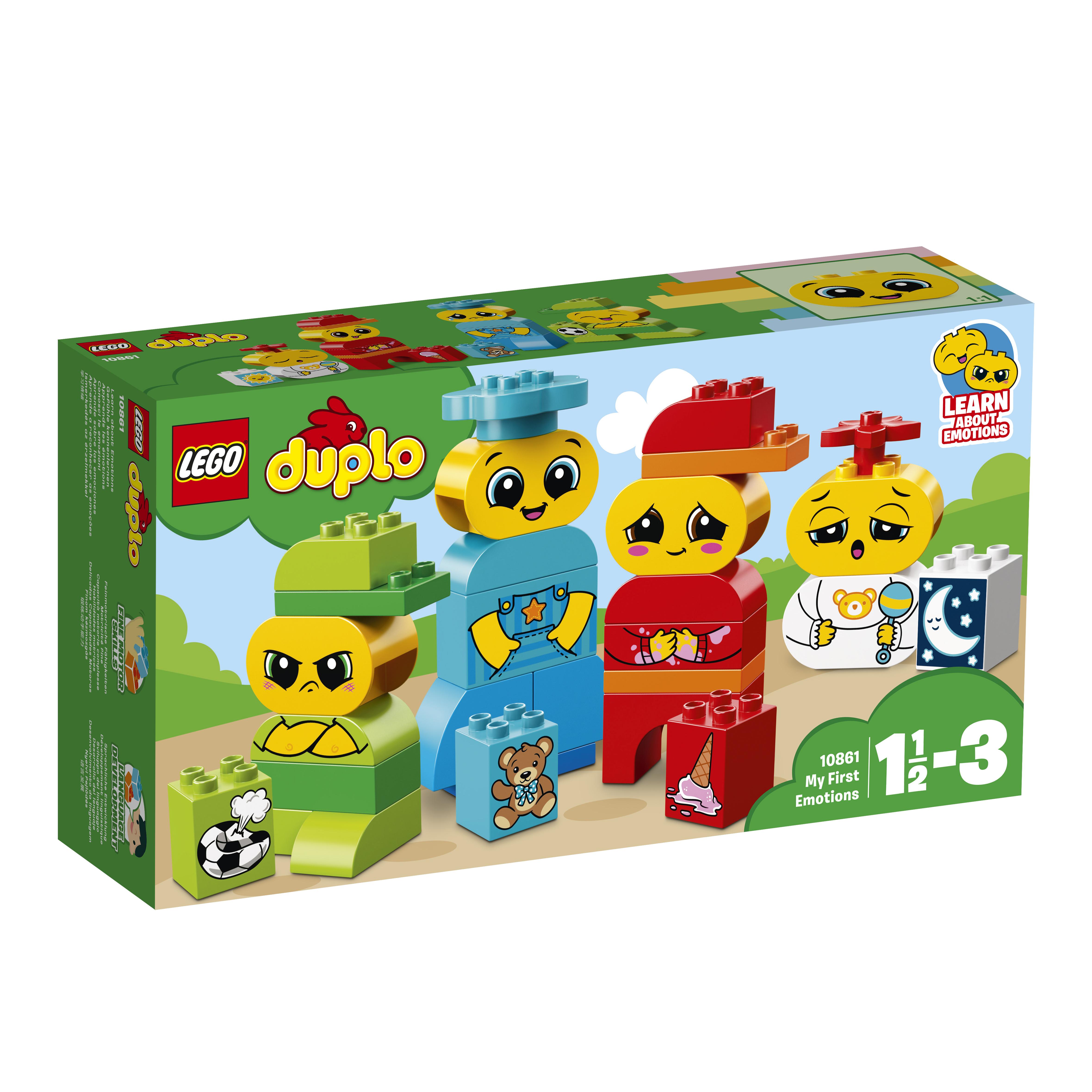 Конструктор LEGO DUPLO My First 10861 Мои первые эмоции lego duplo my first основные элементы lego® duplo®