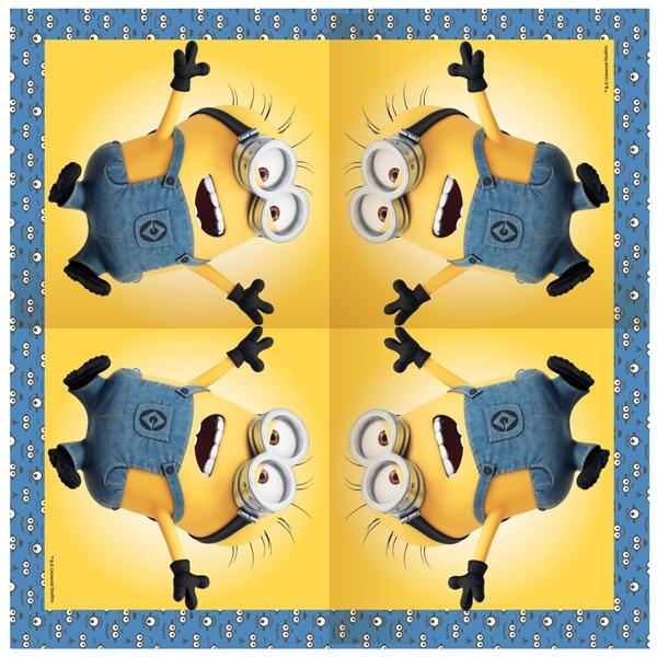 Посуда и скатерти Миньоны Minions 20 шт.