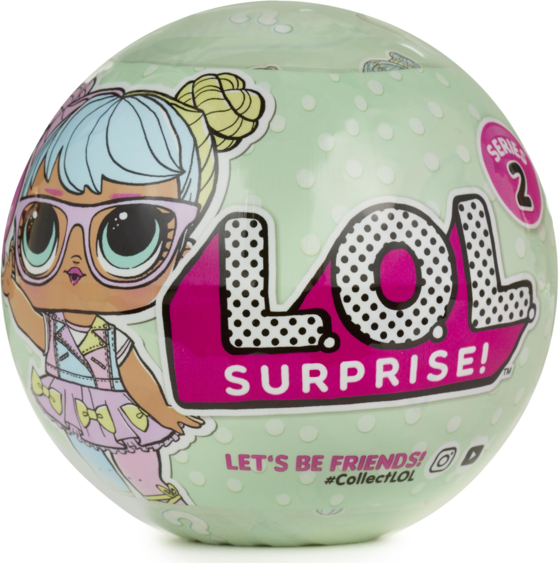 Купить Другие куклы, сюрприз в шарике 548843, L.O.L., Китай, Женский