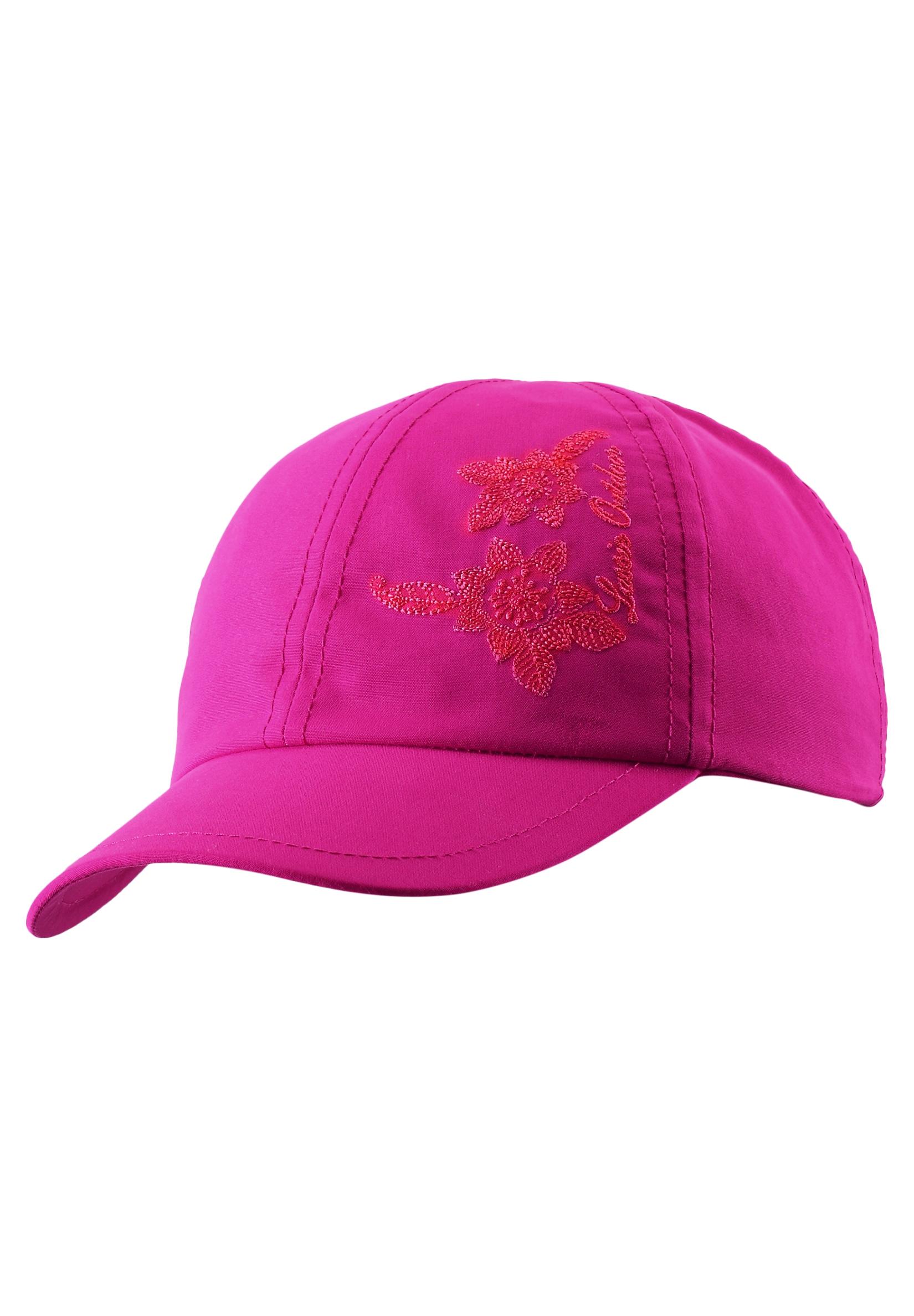 Головные уборы Lassie Шапка для девочки Cap pink, розовая alumi curl cap pink