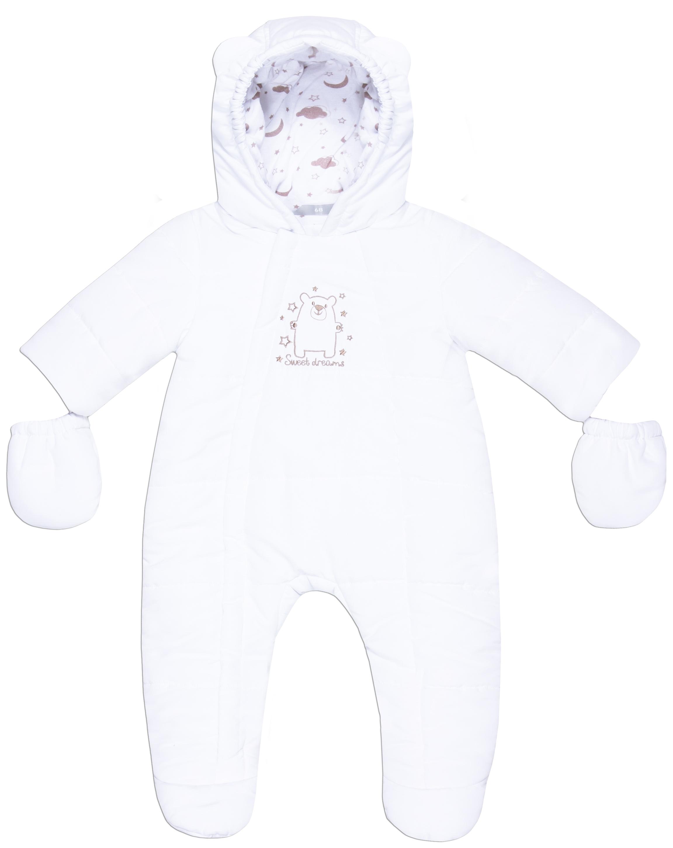Комбинезон Barkito Детский белый цена
