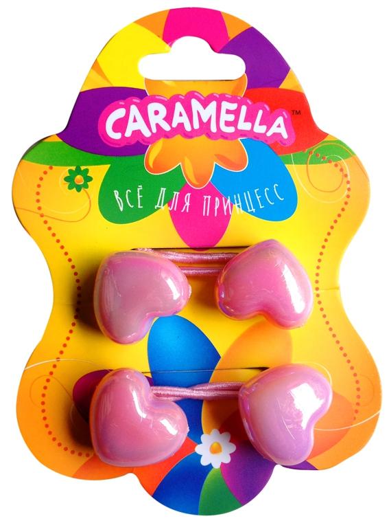 Украшения CARAMELLA Резинка для волос Caramella «Сердечко» 2 шт.