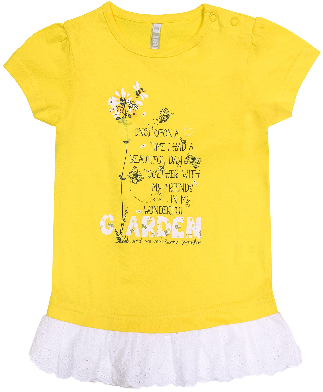 Платье туника Barkito Желтые цветы 901051 X123 75 платье туника