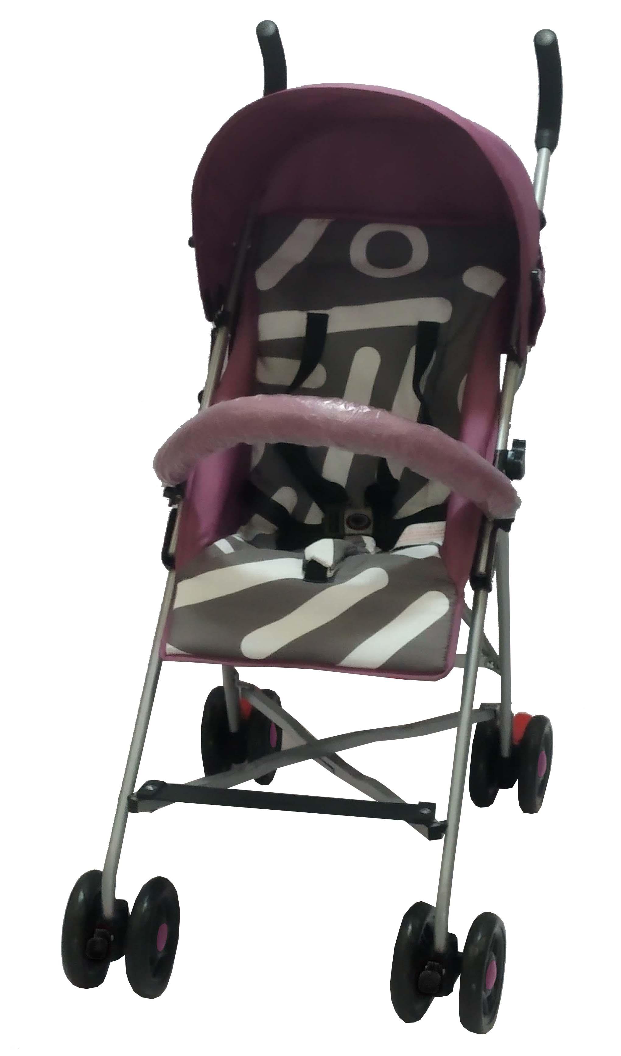 Прогулочная коляска Parusok Evo Pro розовый