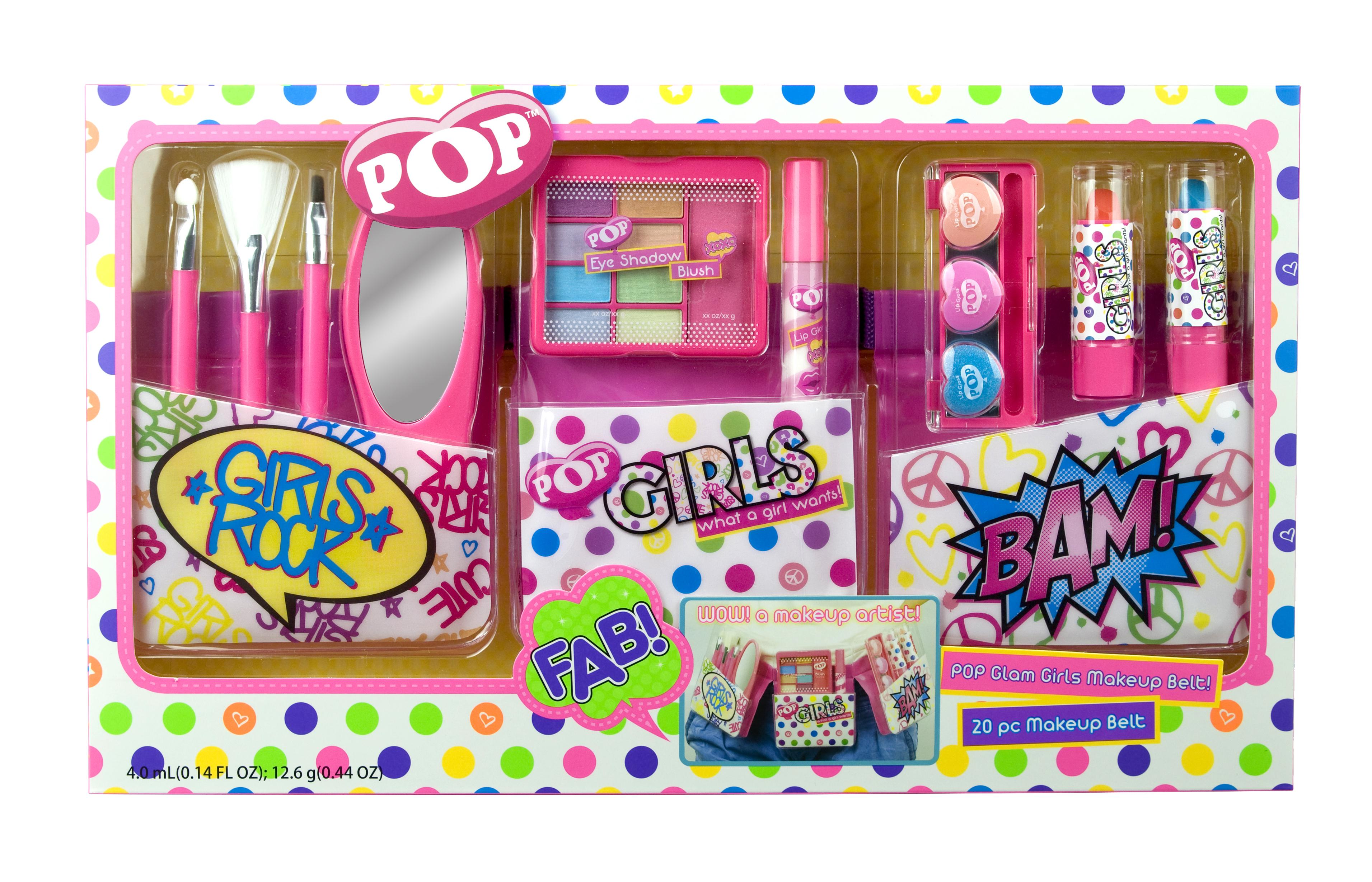 Набор декоративной косметики POP Girls с поясом визажиста набор декоративной косметики totally fashion стильный макияж