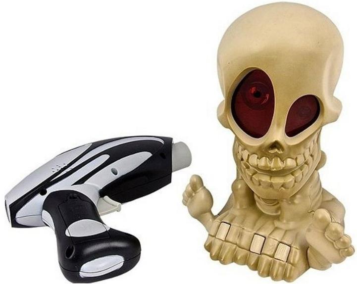 Тир Johnny the Skull Джонни-Черепок с 1 бластером