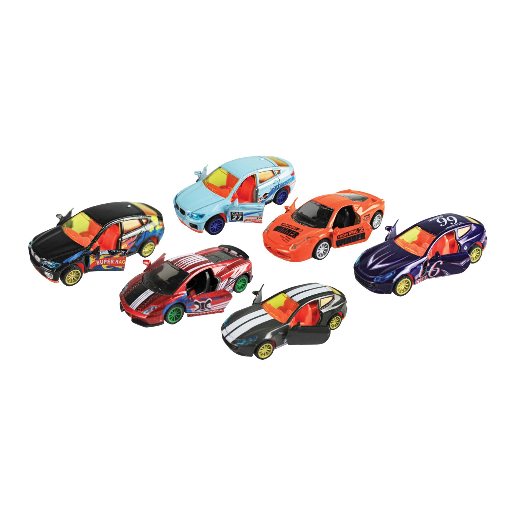 Машинки и мотоциклы Пламенный мотор Спорткары 87657