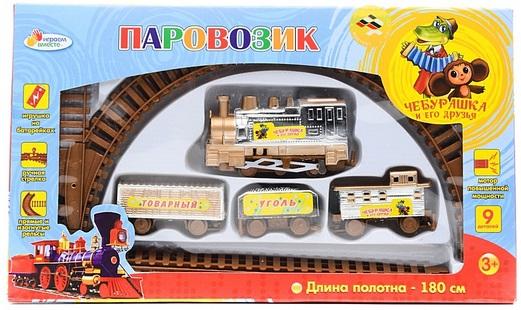 Железная дорога Играем вместе Чебурашка и его друзья железная дорога играем вместе ну погоди с 3 х лет b199134 r
