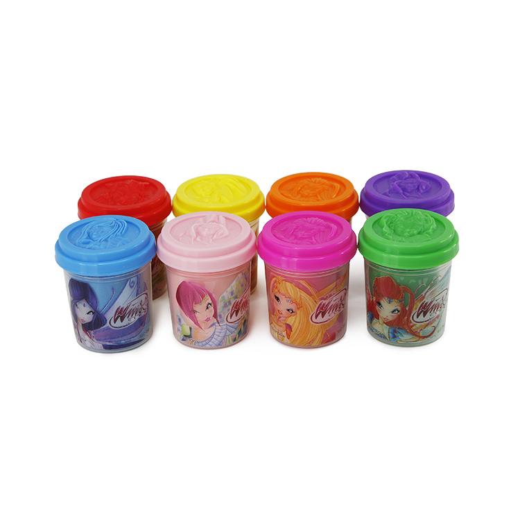 Лепка из пластилина WINX CLUB Масса для лепки Winx 8 цв. 56 г цв ol 64050 50 г