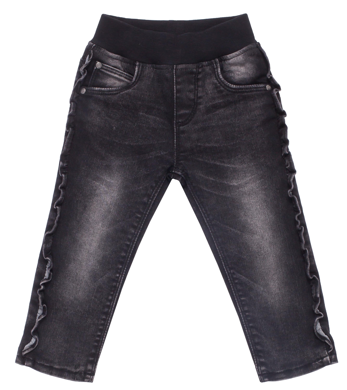 Брюки для девочки Barkito Деним брюки джинсы и штанишки s'cool брюки для девочки hip hop 174059
