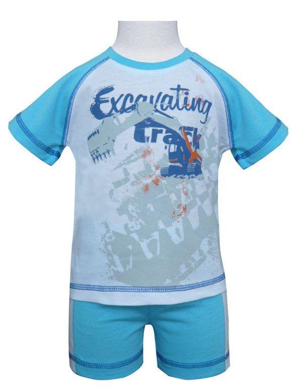 Фото Комплекты Allini kids Комплект для мальчика: футболка + шорты Allini kids