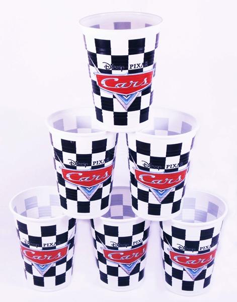 Посуда и скатерти Procos Тачки на старте, 180 мл (10 шт.) procos стаканы пластиковые самолеты 180 мл 8 шт
