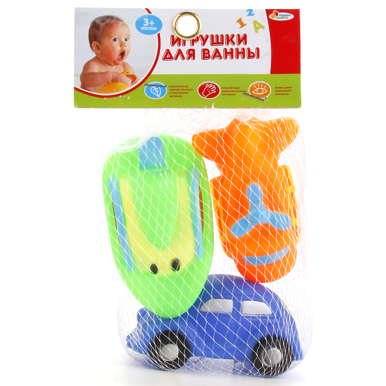 Набор игрушек для ванны Играем вместе Транспорт