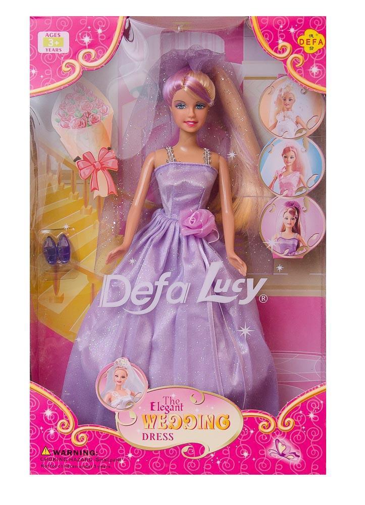 Фото - Кукла DEFA LUCY Невеста кукла пластмастер невеста
