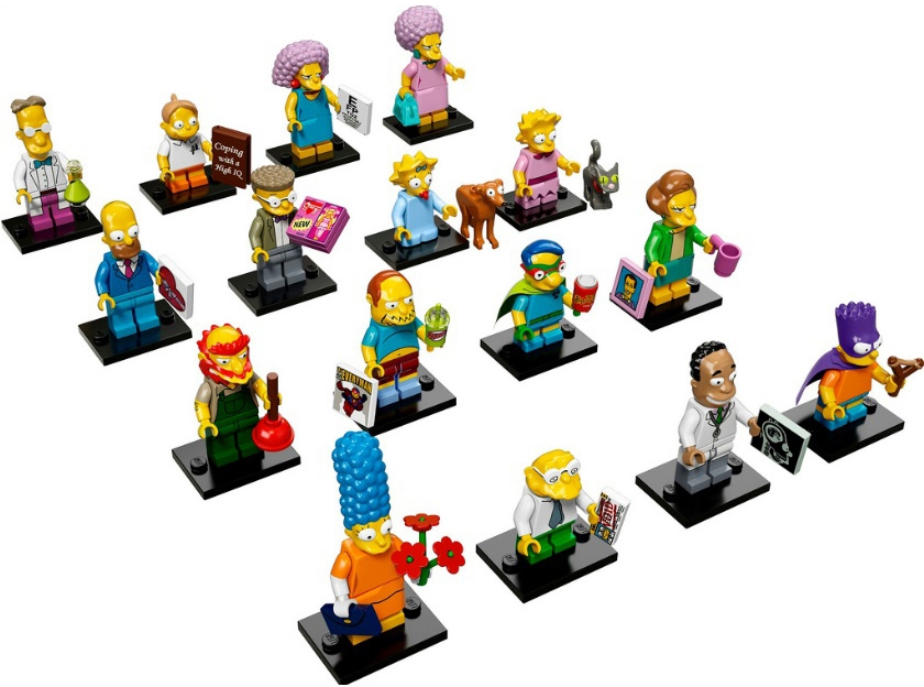 Купить LEGO, Minifigures Минифигурки Серия Симпсоны (71009), Китай, в ассортименте