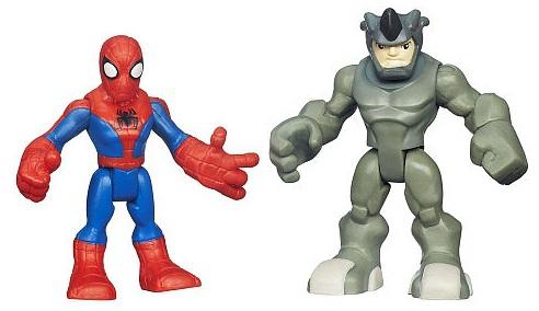 Набор из 2 фигурок Hasbro Человек паук маска супергероя человек паук