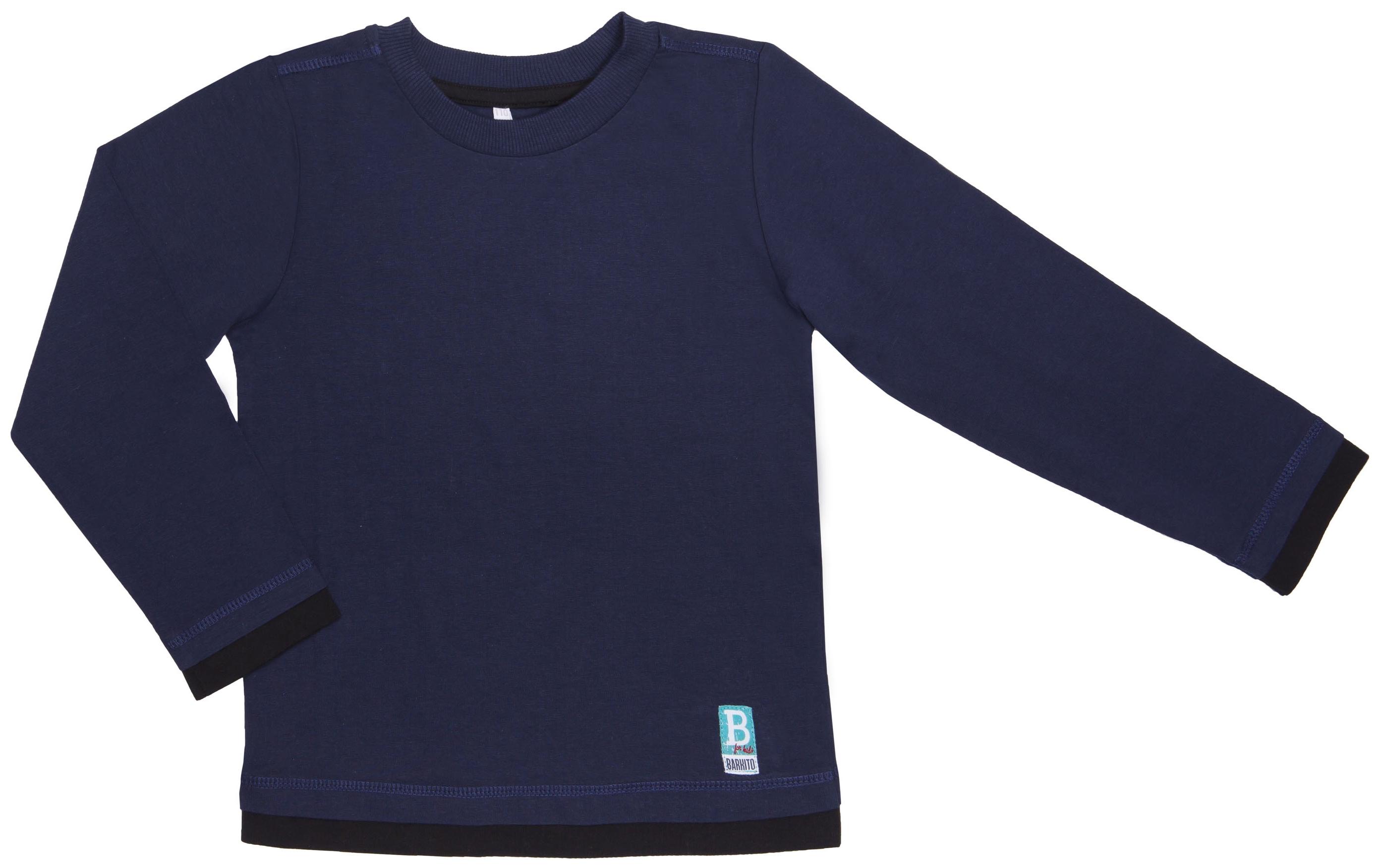 Футболки Barkito Футболка с длинным рукавом для мальчика Barkito, Мотоспорт, синяя футболки barkito футболка с длинным рукавом для мальчика barkito монстр трак синяя