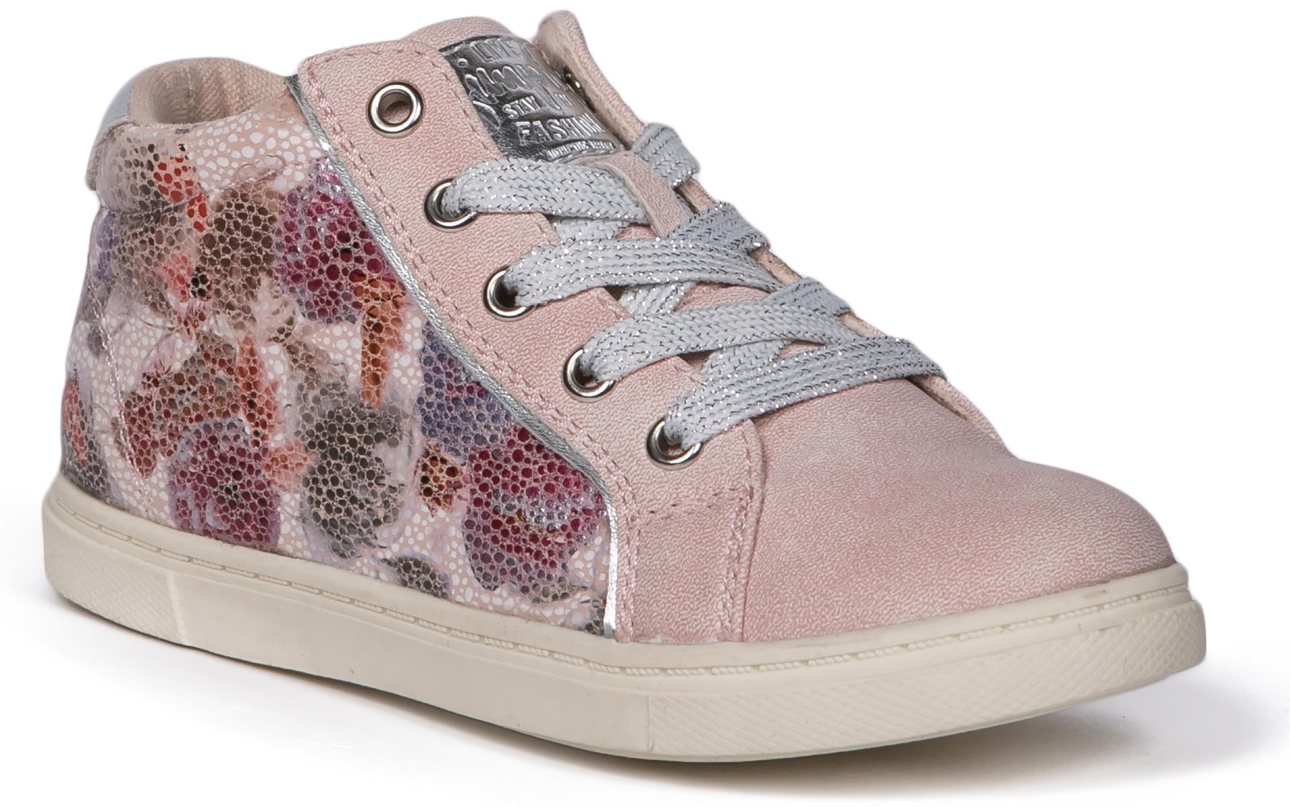 Ботинки и полуботинки Barkito Полуботинки типа кроссовых для девочки Barkito, светло-розовый полуботинки типа кроссовых для девочки barkito розовый