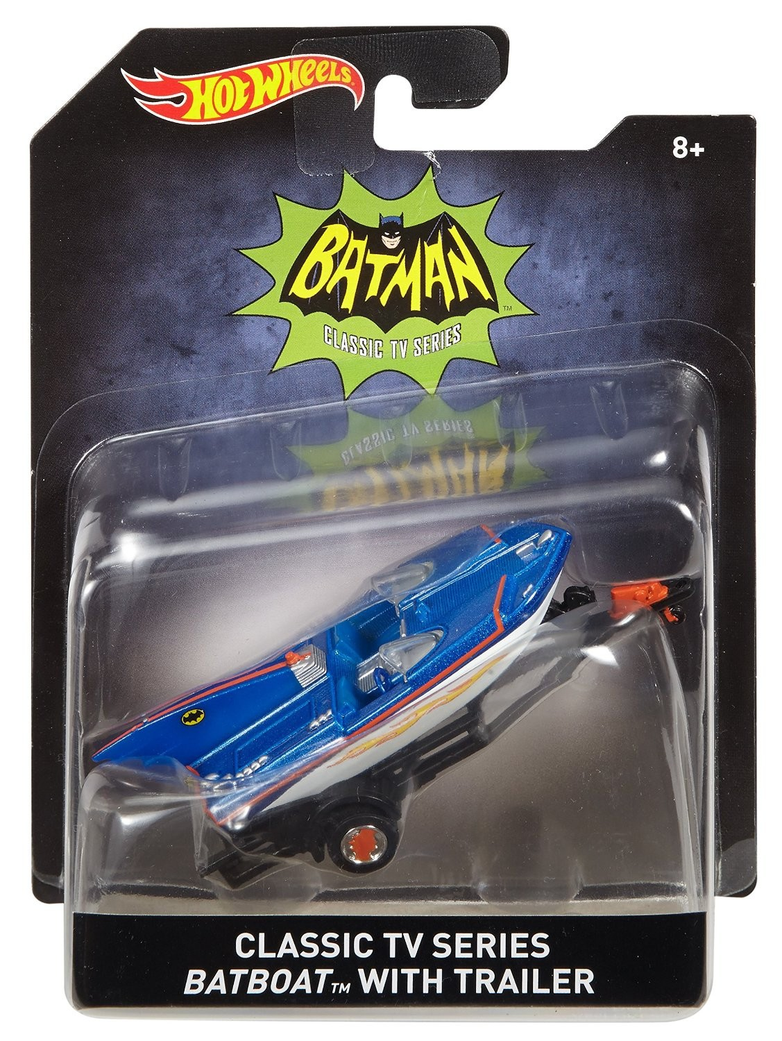 Hot Wheels Hot Wheels Машинка Hot Wheels «Batman» коллекционная 1:50 1 18 scale 1995 batman forever batmobile by hot wheels page 5