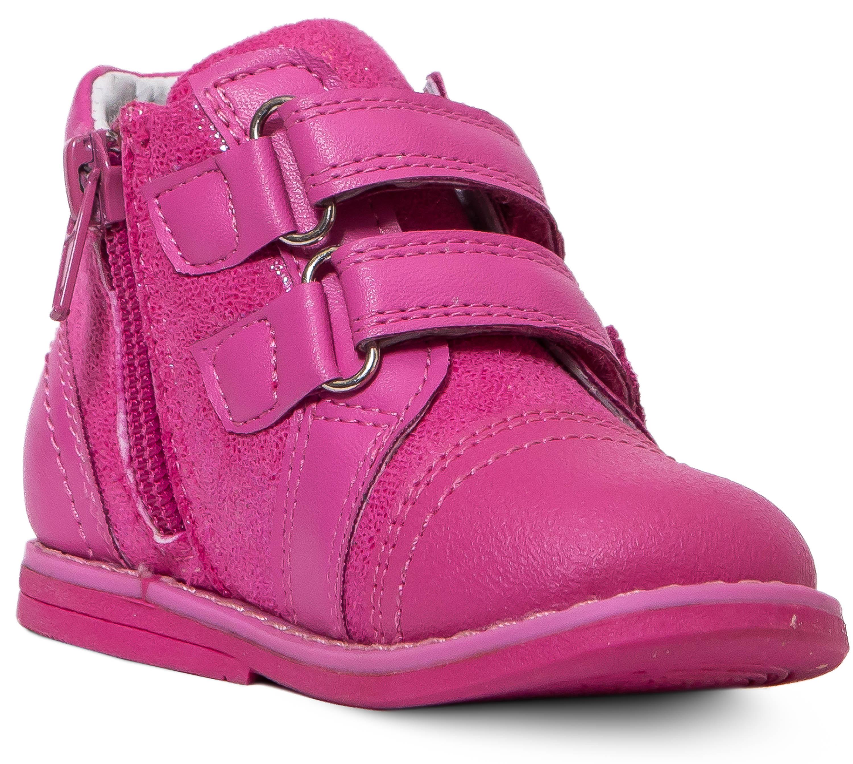Ботинки для девочки Barkito фуксия босоножки barkito сандалеты для девочки barkito фуксия