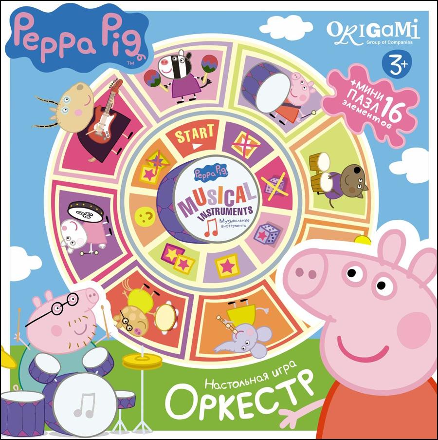 Peppa Pig Peppa Pig Оркестр настольная игра origami peppa pig считалочка в чемоданчике