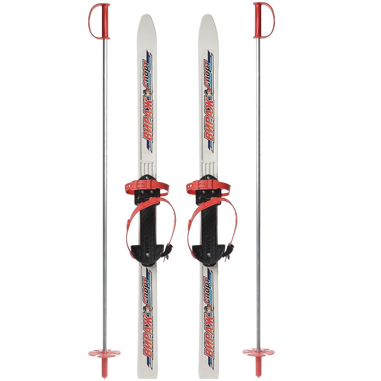 Детские лыжи Вираж-Спорт Вираж-Спорт «МПЛ 106.00» белые