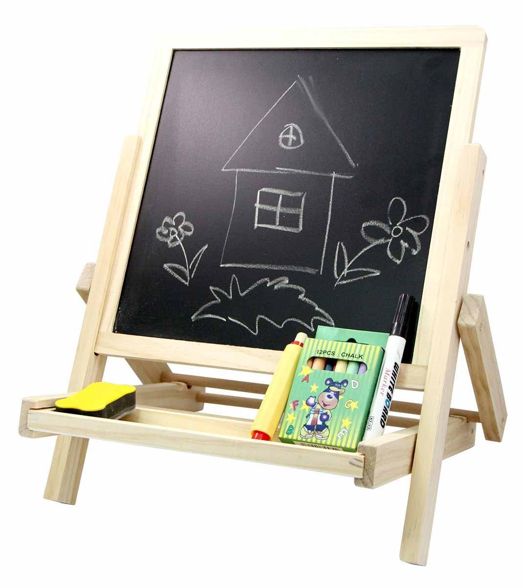 Альбомы и доски для рисования База игрушек Доска для рисования База игрушек двухсторонняя лабиринт деревянный база игрушек model 1шт