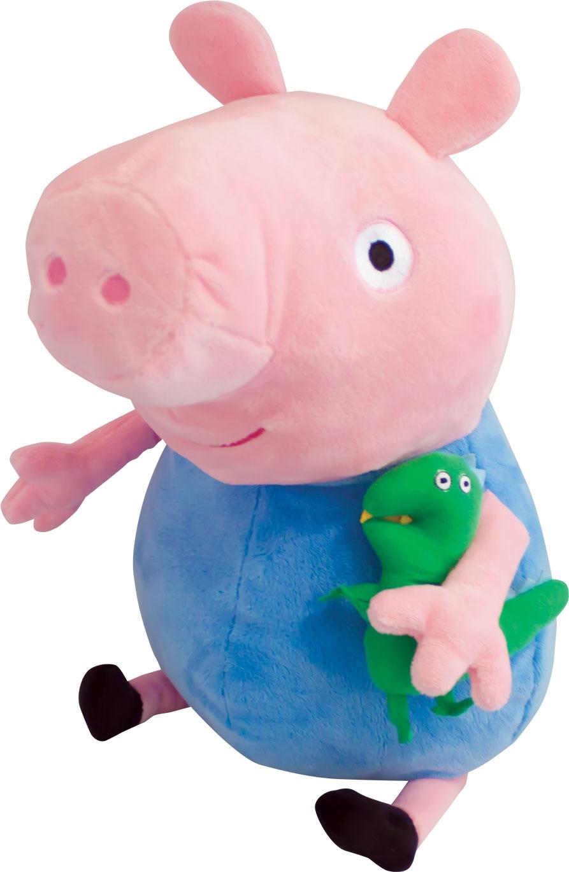 Мягкая игрушка Peppa Pig Джордж с динозавром игрушки для ванны peppa pig пальчиковый театр