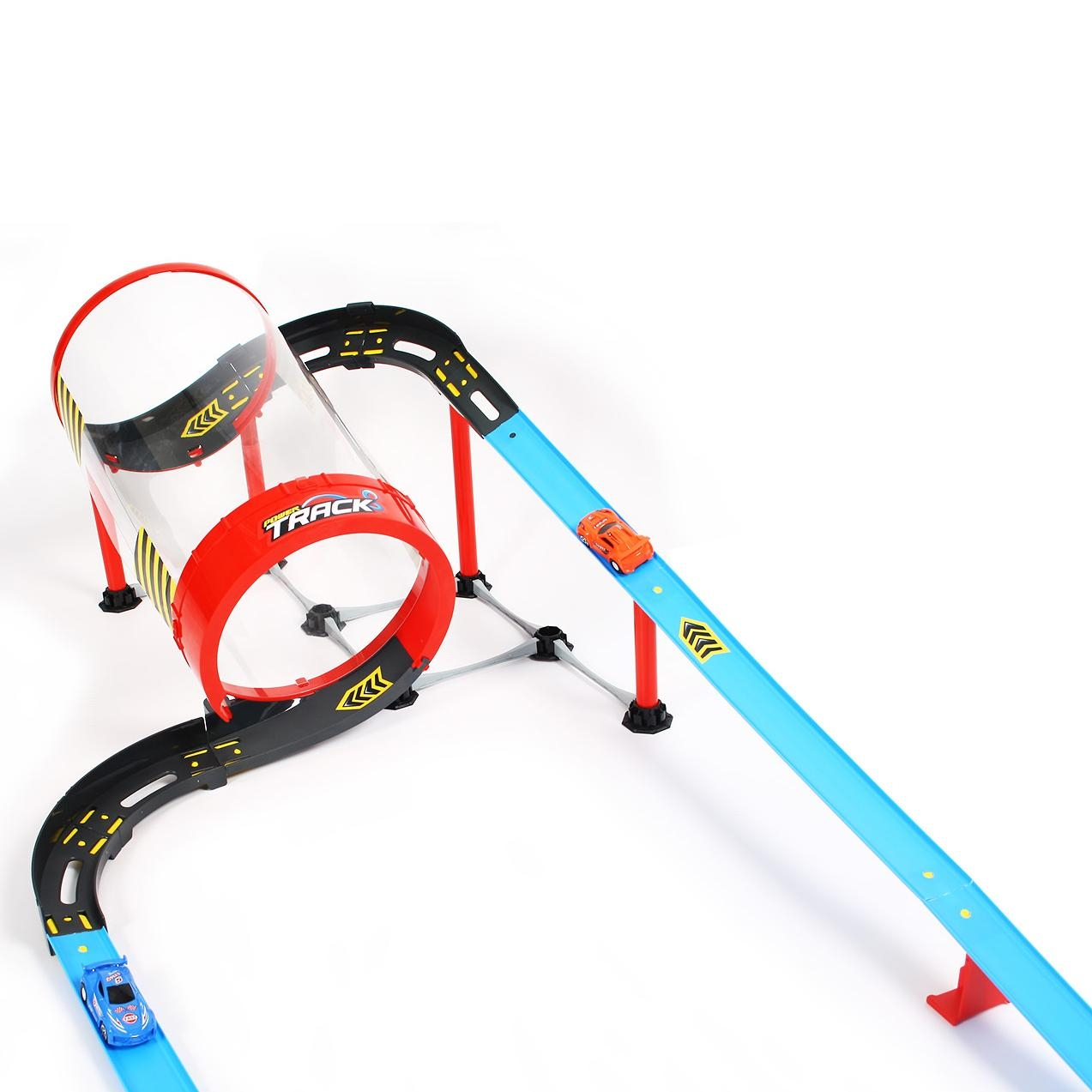Игровой набор Qunxing Toys Гоночный трек Труба 68831 конструктор гоночный трек