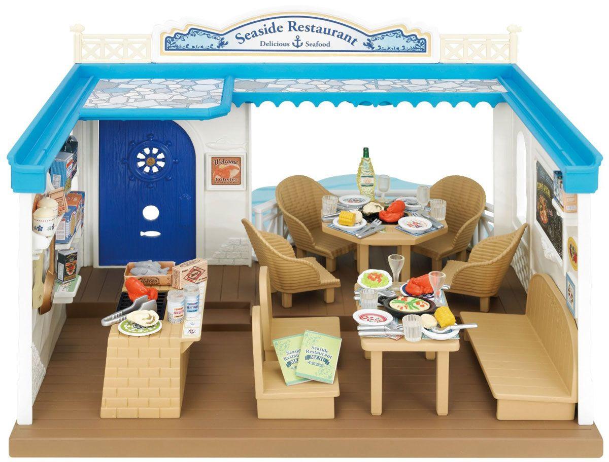 Игровой набор SYLVANIAN FAMILIES Морской ресторан столы и стулья ника trolls