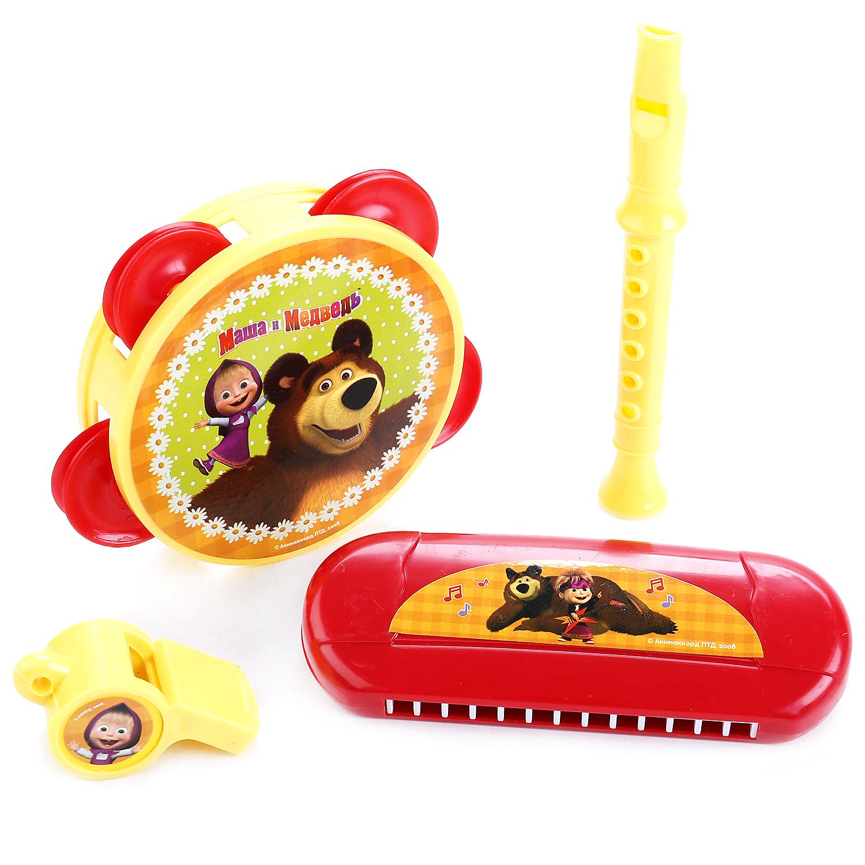 Музыкальные инструменты Играем вместе Маша и Медведь игровая палатка играем вместе маша и медведь