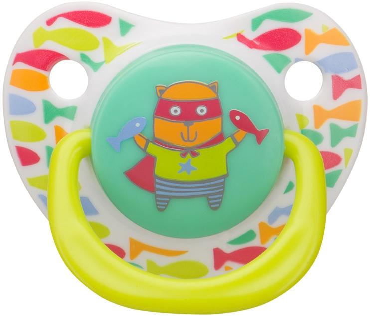 Соска-пустышка Happy baby силиконовая ортодонтической формы хэппи беби happy baby соска пустышка латексная красная арт 13016