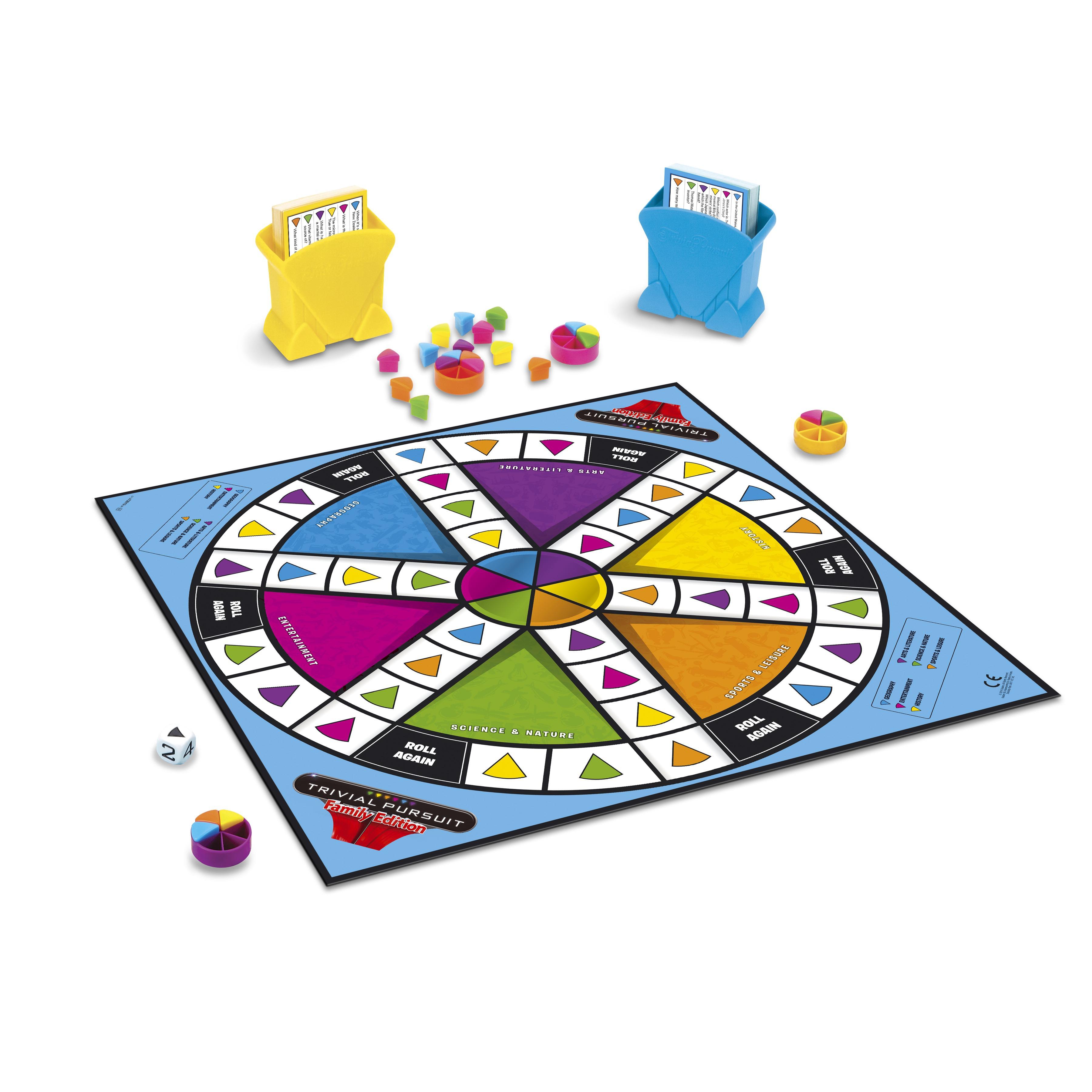 Развивающие и обучающие OTHER GAMES Настольная игра Trivial Pursuit семейная развивающие и обучающие other games моя первая игра other games клуэдо