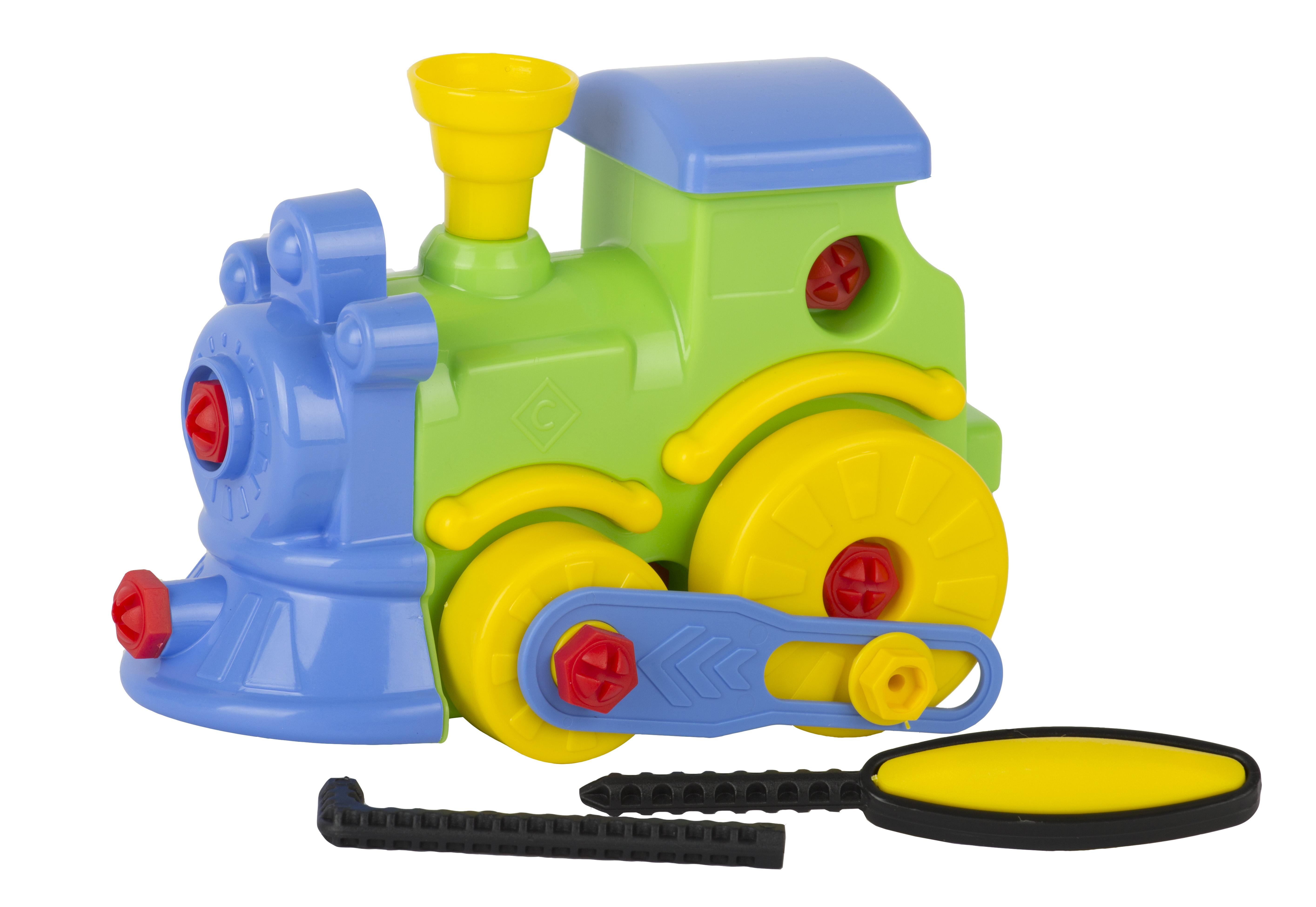 Наборы игрушечных инструментов Спектр Конструктор Спектр «Паровоз» 26 пр. водонагреватель накопительный timberk swh se1 30 vo 30л 2квт белый