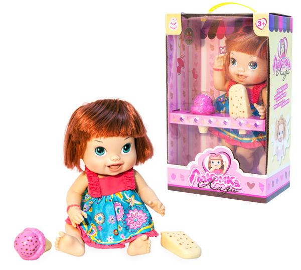 Другие куклы 1toy Лакомка Лиза с каре лиза
