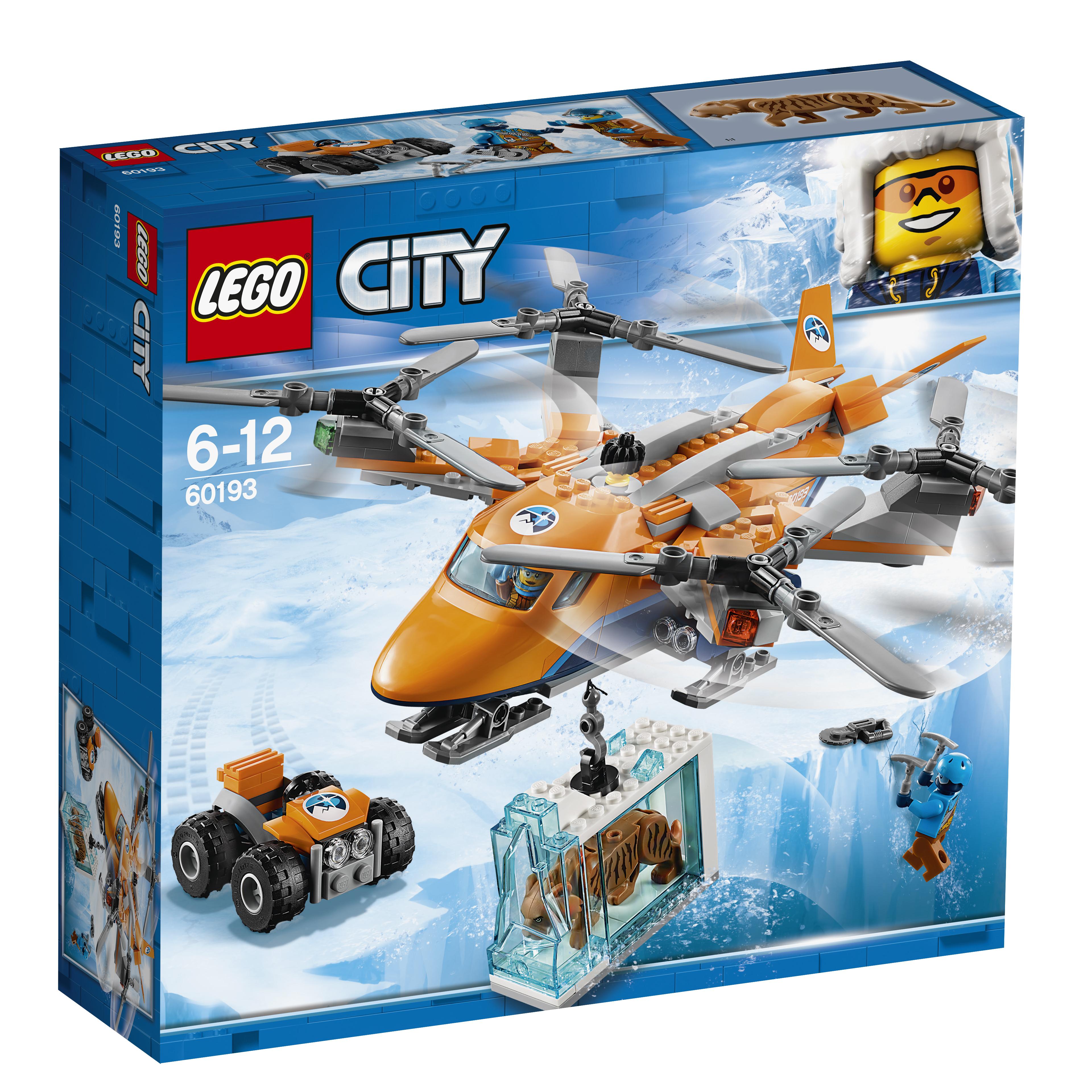LEGO LEGO Конструктор LEGO City Arctic Expedition 60193 Арктический вертолёт конструктор lego city jungle explorer 60157 набор джунгли для начинающих
