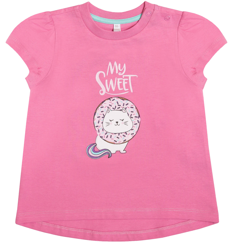 Фото - Комплект Barkito для девочки (джемпер и брюки) «Сладкие монстры» джемпер для девочки let s go монстры цвет розовый персиковый 6181 размер 122